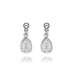Hot Diamonds - Sterling silver 'Stargazer Teardrop' earrings