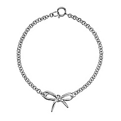 Hot Diamonds - Sterling silver 'Flourish' bracelet
