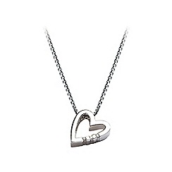 Hot Diamonds - Sterling silver 'Head Over Heels' pendant
