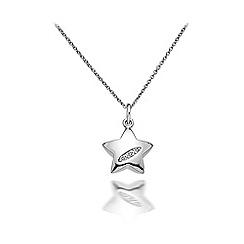 Hot Diamonds - Sterling silver 'Shooting Stars Star' pendant
