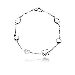 Hot Diamonds - Sterling silver 'Stargazer' bracelet