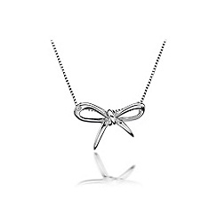 Hot Diamonds - Sterling silver 'Flourish' pendant