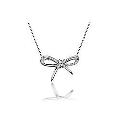Hot Diamonds - Sterling silver 'Flourish' pendant