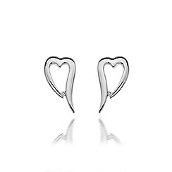 Hot Diamonds - Sterling silver 'Remember Me' earrings