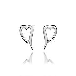 Hot Diamonds - Sterling silver 'Remember Me' earrings