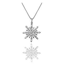 Hot Diamonds - Sterling silver 'Winter Wonderland Snowflake' pendant
