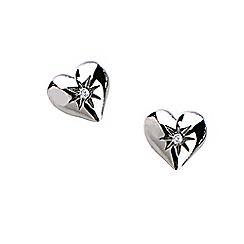 Hot Diamonds - Sterling silver 'Giselle Heart' earrings