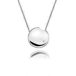 Hot Diamonds - Sterling silver 'Lunar Eclipse' pendant