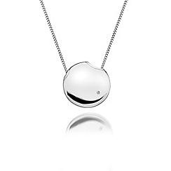 Hot Diamonds - Sterling silver 'Lunar Eclipse' pendant