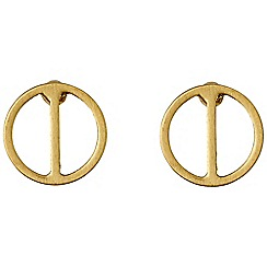 Pilgrim - Gold plated earrings