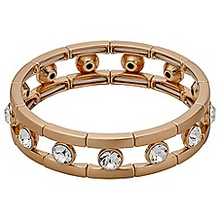 Pilgrim - Rose gold crystal bracelet