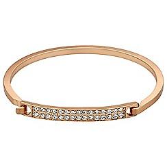 Pilgrim - Rose gold crystal bracelet