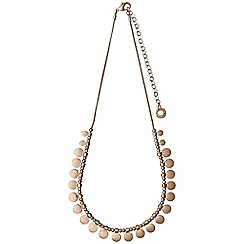 Pilgrim - Rose gold plated necklace