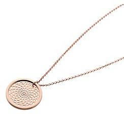 STORM - Rose gold denzi necklace