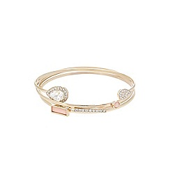 Lipsy - Gold pretty bangle set