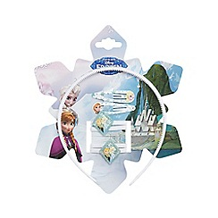 Disney Frozen - White five piece hair set