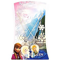 Disney Frozen - Multicoloured best friends necklace set