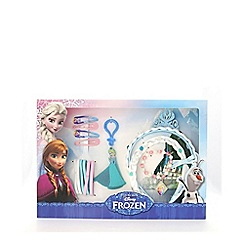 Disney Frozen - Multicoloured Elsa fake hair gift box set