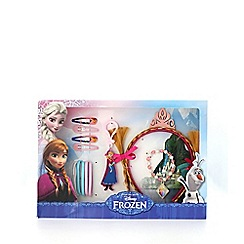 Disney Frozen - Multicoloured Anna fake hair gift box set