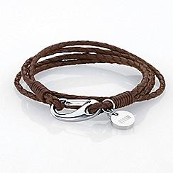 STORM - Brown jax wrap bracelet