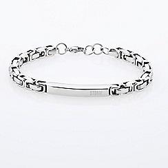 STORM - Silver velt id bracelet