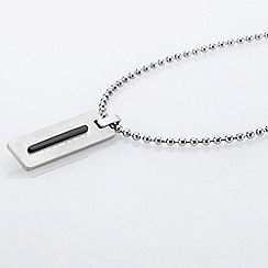 STORM London - Silver hemming necklace