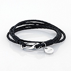 STORM - Black jax wrap bracelet