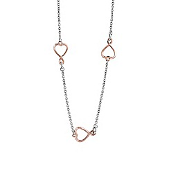 Guess - Silver heart necklace