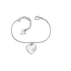 Guess - Silver heart bracelet