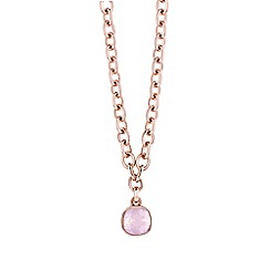 Guess - Rose gold chain necklace