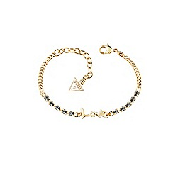 Guess - Gold 'love' bracelet