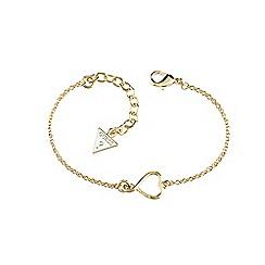 Guess - Gold heart bracelet