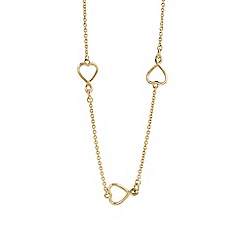 Guess - Gold heart necklace