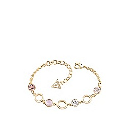 Guess - Gold four stone bracelet