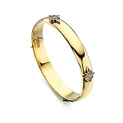 Fiorelli - Gold swarovski crystal star bangle