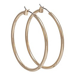 Anne Klein - Gold large hoop earrings