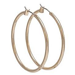Anne Klein - Gold large hoop earrings