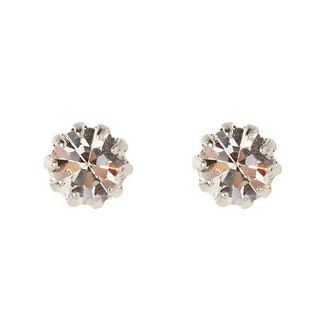 Martine Wester - Silver small stone earrings