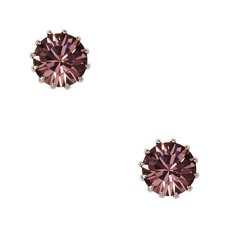 Martine Wester - Light amethyst stone earrings