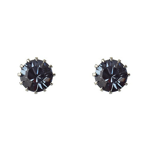Martine Wester - Light sapphire small stone earrings