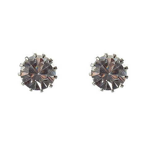 Martine Wester - Silver stone earrings