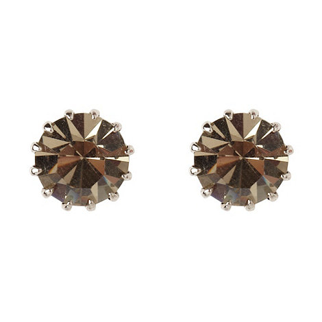 Martine Wester - Jet large stone earrings