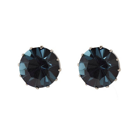 Martine Wester - Light sapphire large stone earrings