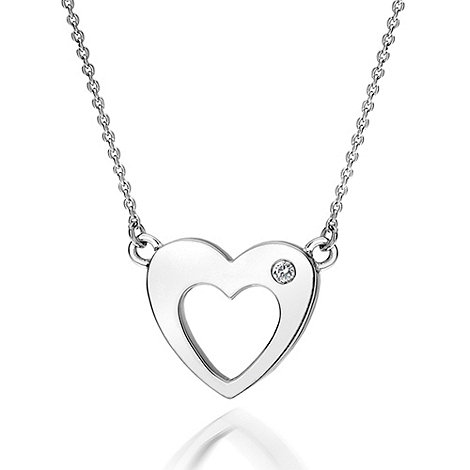 Hot Diamonds - Open heart necklace