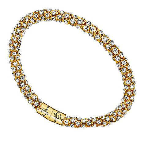 Guess - Gold plated pave bangle ubb81333
