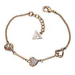 Guess - Triple heart bracelet