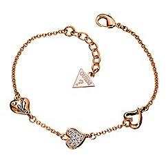 Guess - Triple heart bracelet