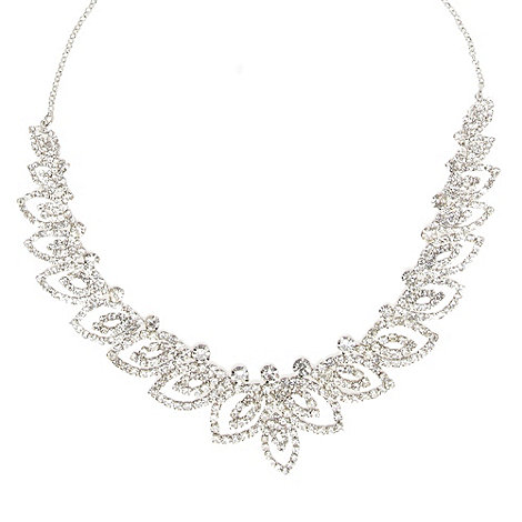 No. 1 Jenny Packham - Designer silver leaf necklace