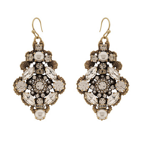Martine Wester - Stargazer crystal chandelier earrings