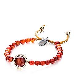 Shimla - Red agate bracelet